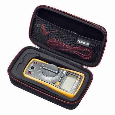 Rlsoco Carrying Case For Fluke 117115116113 Digital Multimeter And Fluke 87