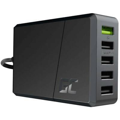 Green Cell ChargeSource 5 CHARGC05 USB-Ladestation Steckdose Ausgangsstrom