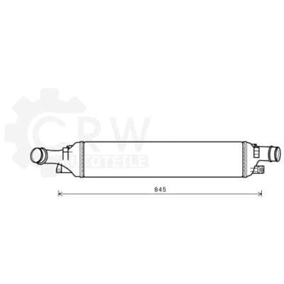 Intercooler Intercooler Radiator for Audi Q3 8U