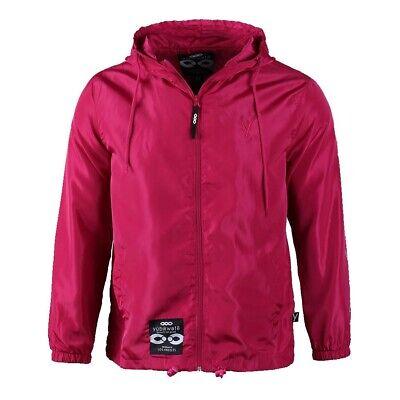 Men's Adjustable Hood Breathable Mesh Liner Soft Light Shell Windbreaker Jacket Baseball Mesh Vest