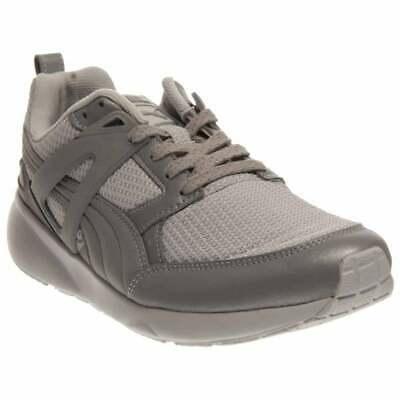 Puma Aril Reflective  Casual Running  Shoes - Silver - Mens