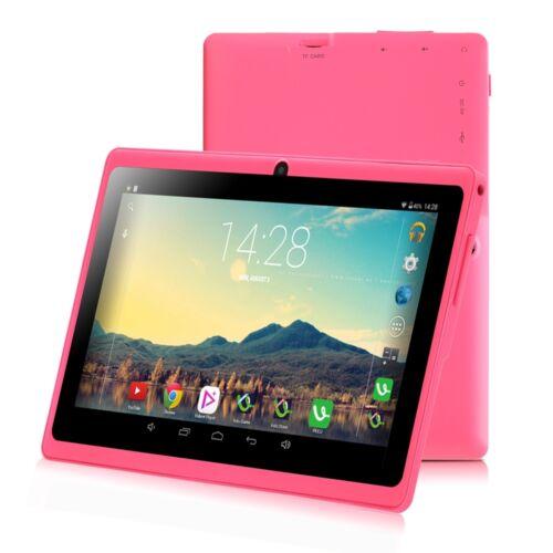 irulu 7 google android tablet pc pink quad core 8gb wifi. Black Bedroom Furniture Sets. Home Design Ideas