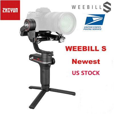 US ZHIYUN WEEBILL S 3-Axis Gimbal Handheld Stabilizer for DSLR Mirrorless Camera