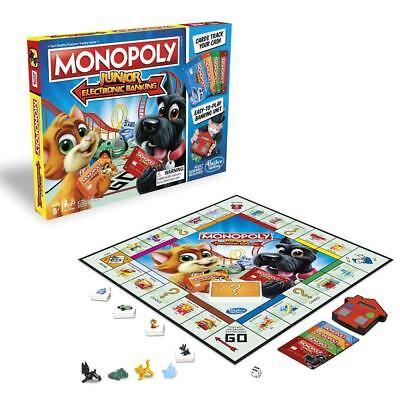 Monopoly Junior Electronic Banking (Gioco in Scatola, Hasbro Gaming)