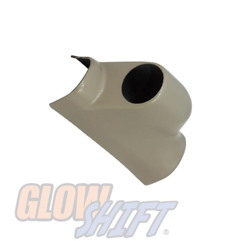GlowShift Taupe Single Gauge 52mm Pillar Pod for 2003-2009 Dodge Ram Cummins