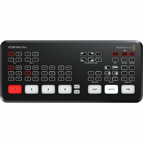 *OPEN BOX* Blackmagic Design ATEM Mini PRO Switcher *Authorized Dealer*