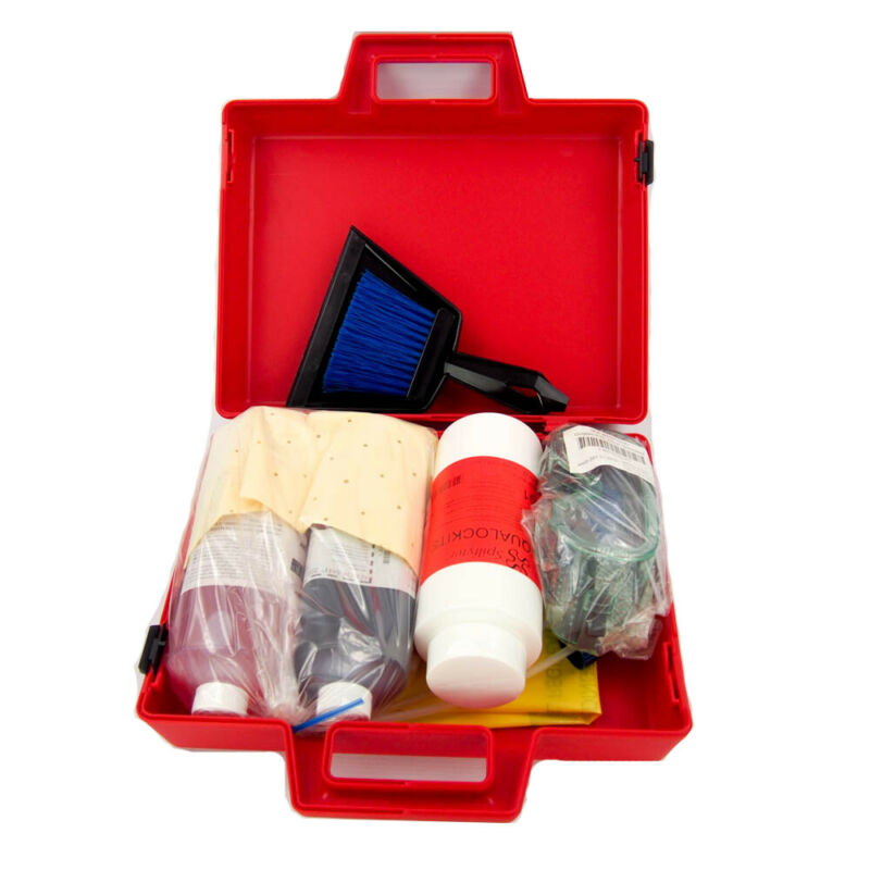 Spilfyter 270002 Compact Spill Kit - Contains both acid and Base Neutralizers