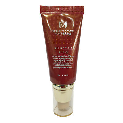 Missha M Perfect Cover BB Cream SPF42 PA+++ NO.27 (Honey beige) 50g