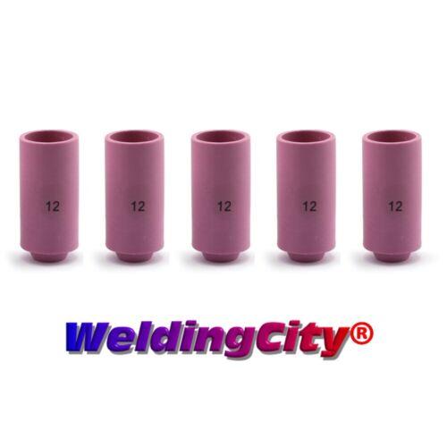 "WeldingCity® 5-pk Alumina Ceramic Cup 10N44 #12 3/4"" TIG Welding Torch 17/18/26"