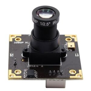 3MP Micro WDR USB Webcams H.264 30fps 1920*1080 USB Camera Module with 12mm lens