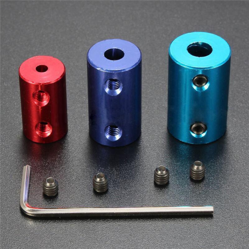 5x8mm Aluminum Flexible Shaft Coupling Rigid Coupler Motor Connector L25mm 5x5