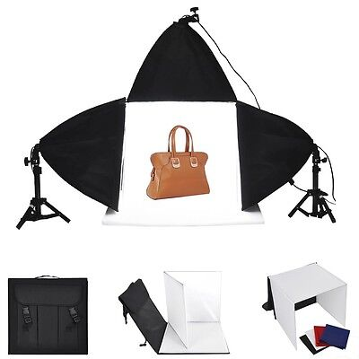Photo Studio 16  Photography Lighting Tent 3X Backdrops 3X Softboxes Kit Cube