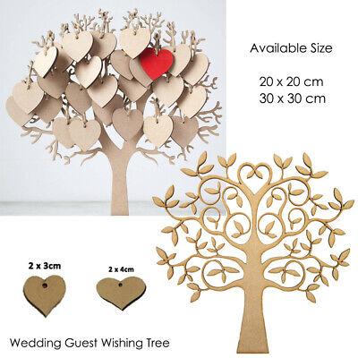 Graduation Wedding Guest Wish Book Tree DIY Simple Creative Decorative UK - Wedding Wish Tree