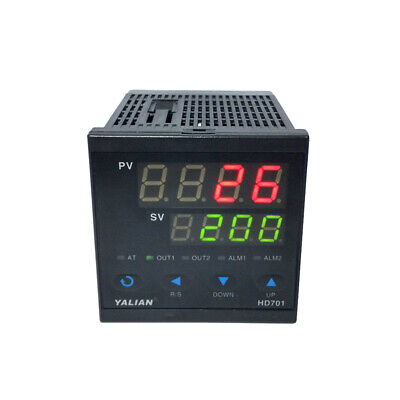 Dual Display Ac Digital Led Temperature Controller Thermostat Pid Temp Control