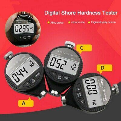 Digital Lcd Shore Hardness Durometer 100ha Tester Tire Rubber Meter A C D