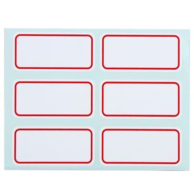 Note Labels Self Adhesive Price Stickers Label Blank Name Number Tags