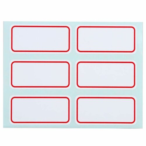 Note  Labels Price Stickers Label Blank Name Number Tags Self Adhesive