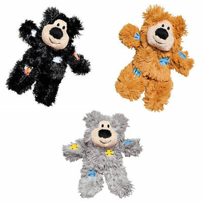 Patchwork Bear ( KONG Softies Patchwork Bear(Free Shipping in)