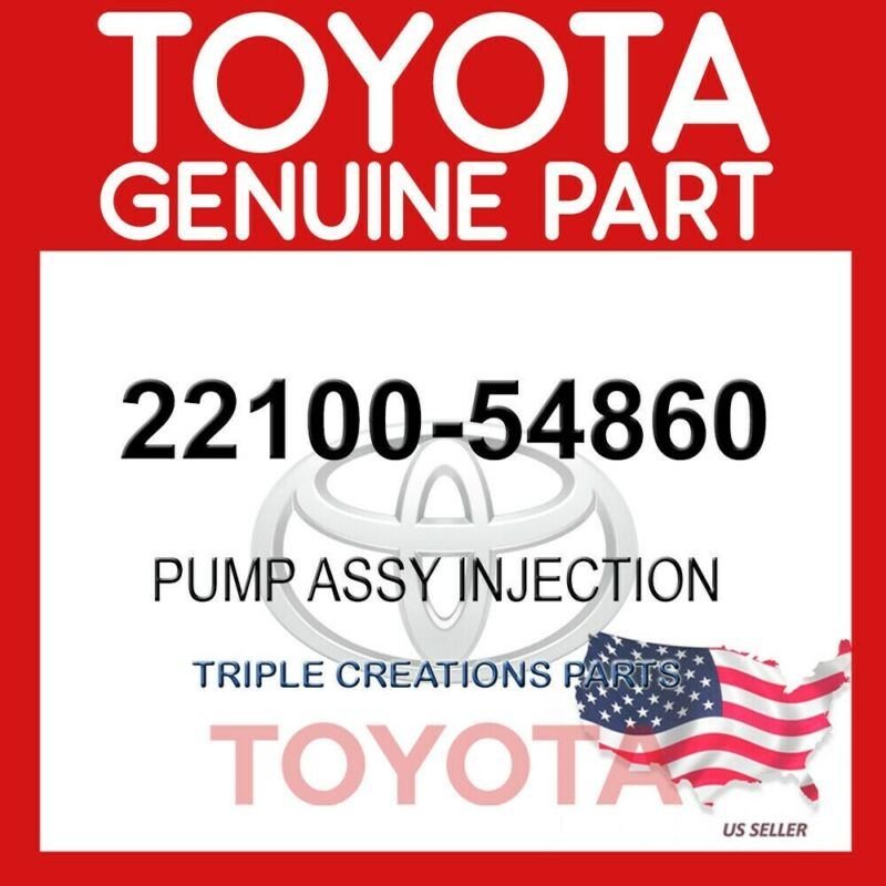 Genuine Toyota 22100-54860 Pump Assy, Injection Or Supply 2210054860 Oem