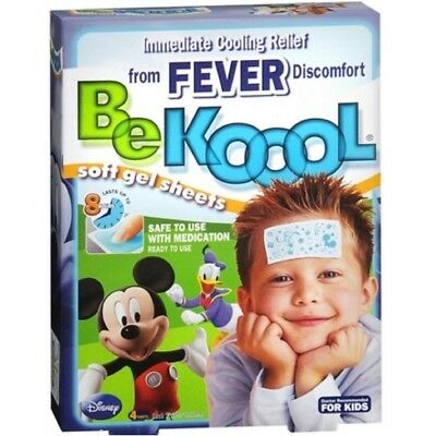 Be Koool Kids Soft Gel Sheets, 4 Count Be Koool Gel Sheets