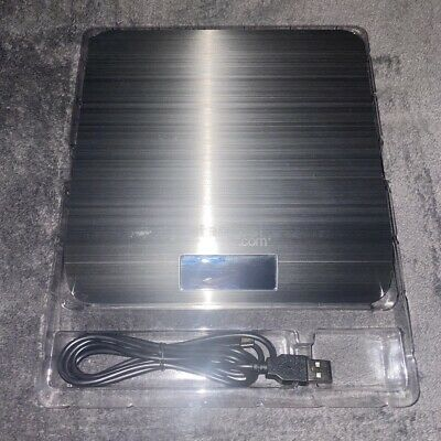 Stamps.com Stainless Steel 5lb. Digital Postal Scale Usb Connection Euc W Box