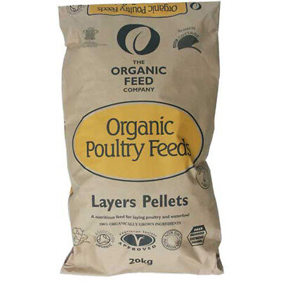 Allen & Page Organic Feed Company Layers Pellets 20kg