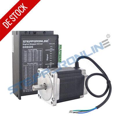 1 Achse CNC Kit  Nema 34 Schrittmotore 12Nm  5.2A /& Stepper Motor Driver Treiber