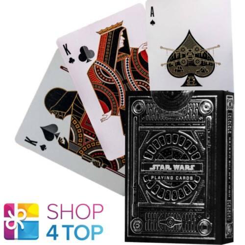 Star Wars Silver Dark Theory 11 Cards Deck Magic Tricks Poker USA New