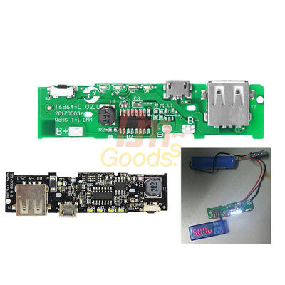 18650 Lithium Battery 5v 2a 2.1a Power Bank Charger Module Charging Pcb Board