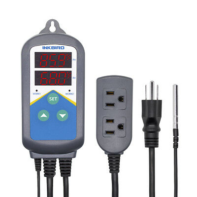 Inkbird Itc-306t Digital Temperature Controller Heating Timer 110v Day Round Set