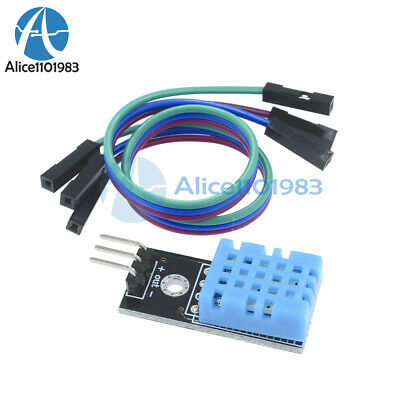 Dht11 Temperature And Relative Humidity Sensor Module Dc5v For Arduino