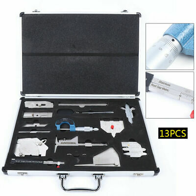 13pcsweldinggauge Tool Kit Gage Inspection Rulercase In Inch Measuring Box Sale