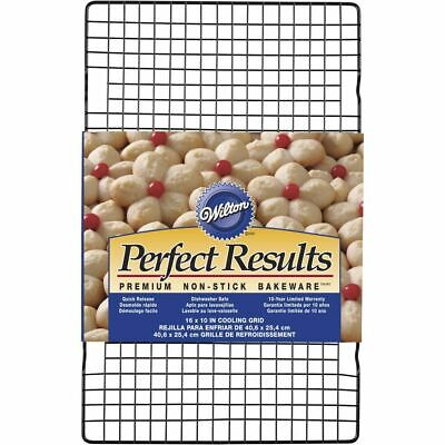 """Wilton 2105-6813 Perfect Results 16x10"""" Nonstick Baking Cooling Cookie Grid Rack"""