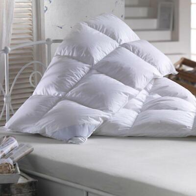 Bettdecke 135x200 Warm 100% Daunen Winterdecke Schäfer Daunendecke Steppdecke
