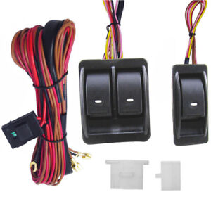 Power Window Harness Ebay. 12v Universal Power Window Switch Kits With Wiring Harness Holder Stock. GM. 92 GMC Sierra Door Wiring At Scoala.co