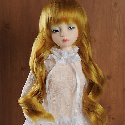 """8-9 /""""   Goungju ST Wig Dollmore  1//3BJD OOAK Supplier SD wig Pink"""