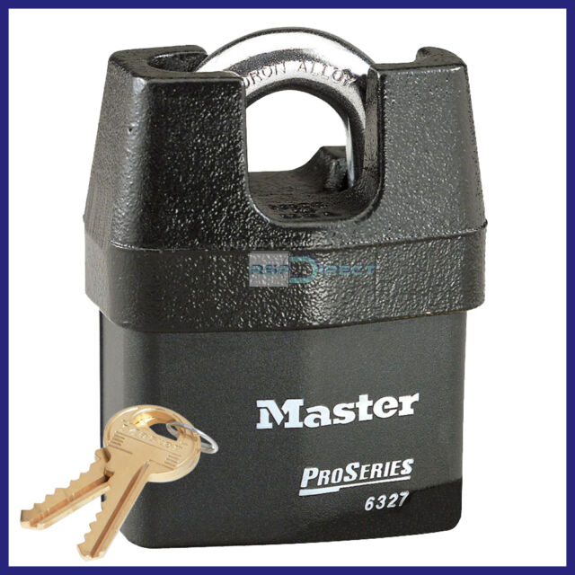 Master Lock 6327D Shrouded Weather Tough Padlock