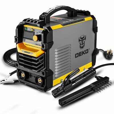 Deko Welder Machine 110220v Mma Arc Igbt Digital Display Lcd Hot Start Welder