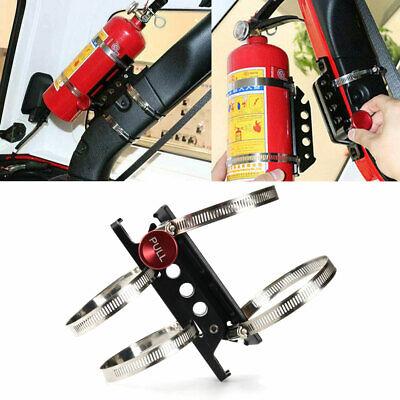 For Jeep Wrangler Jk Tj Yj Fire Extinguisher Mount Bottle Holder Aluminum Ct