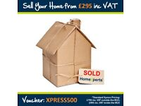 Sell your London home for only £495!