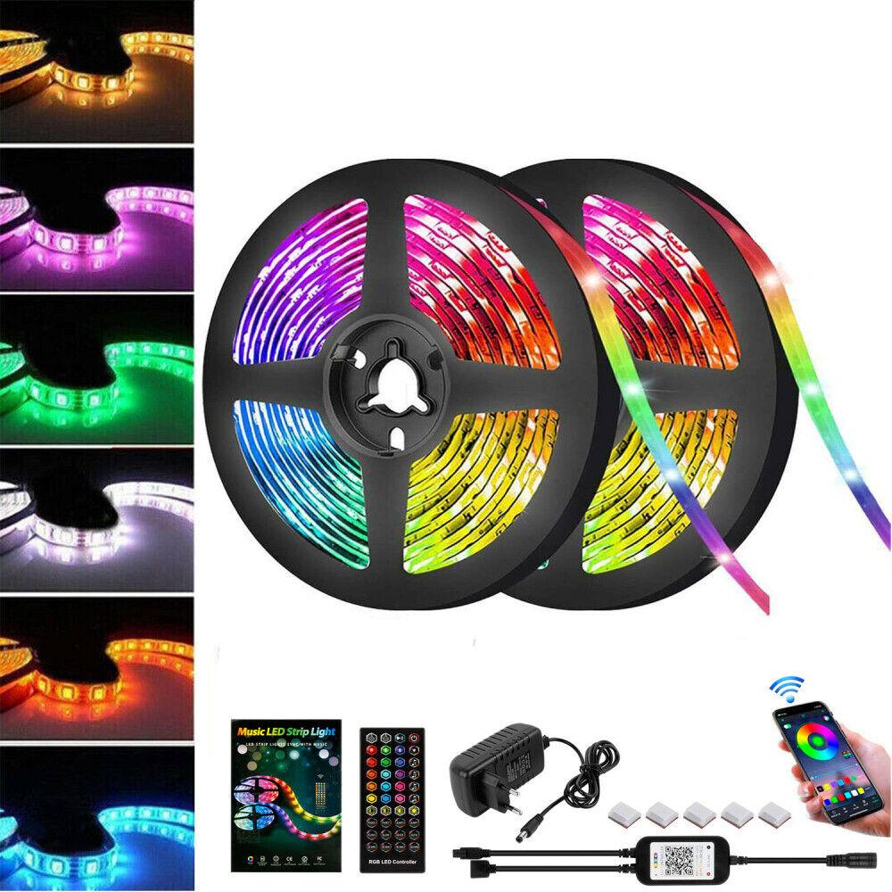 LED-Streifen RGB-Leistenstreifen 5050 SMD-Band Licht Licht Licht 5m-10m DHL
