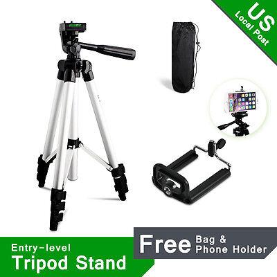 Us Local Camera Tripod For Canon Nikon Digital Camera Camcorder   Phone Holder