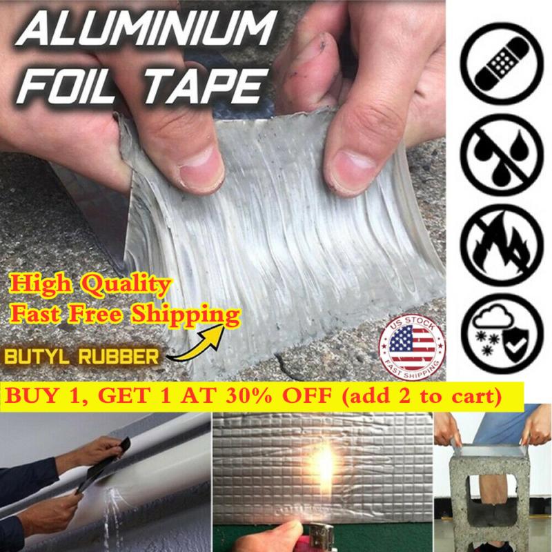 Super Strong Waterproof Tape Butyl Seal Rubber Aluminum Foil