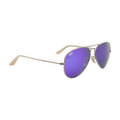 Ray-Ban Aviator Bronze Metal Frame Sunglasses Rb3025