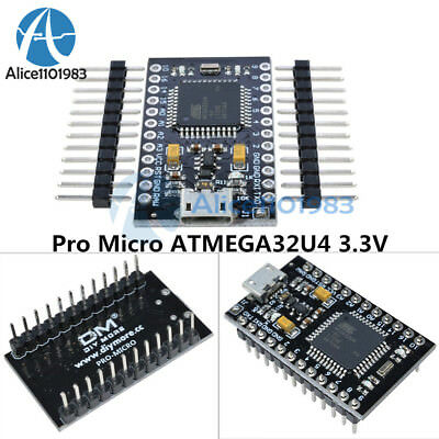 Pro Micro Atmega32u4 3.3v 8mhz Usb Controller Board With Bootloader For Arduino