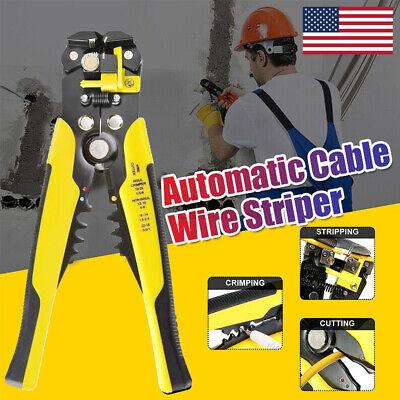 3 In 1 Automatic Wire Striper Cutter Stripper Crimper Pliers Terminal Hand Tool