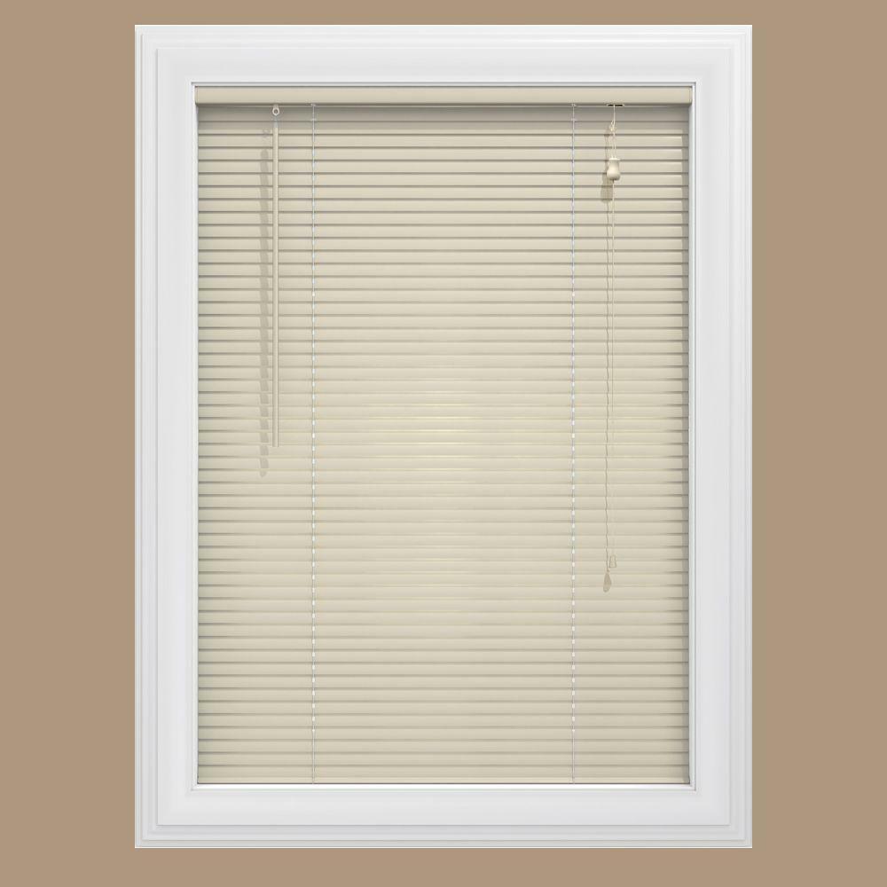 1 aluminium mini blinds alabaster various width