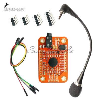 4.5v-5.5v Voice Recognition Module Board V3 Kit Diy For Arduino Compatible