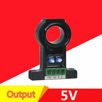 Variable Range Ac0-200a Output 5v Loop Hall Effect Current Sensor Ahkc-e