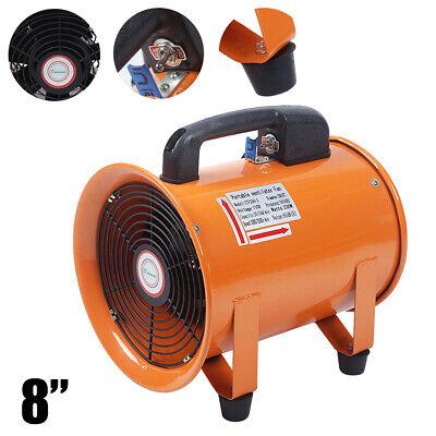 8 Portable Ventilator Blower Fan 110v Utility High Speed Moto Copper Winding